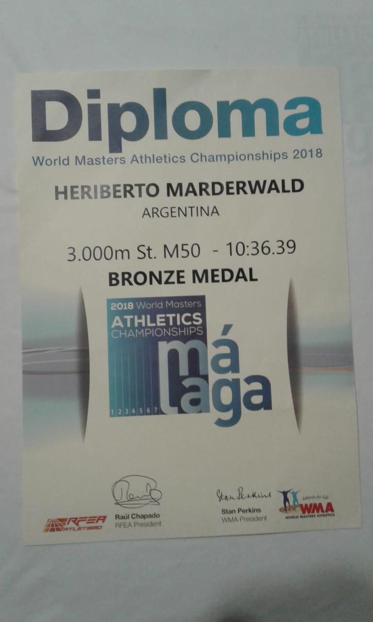 marderwald malaga 2018 diploma