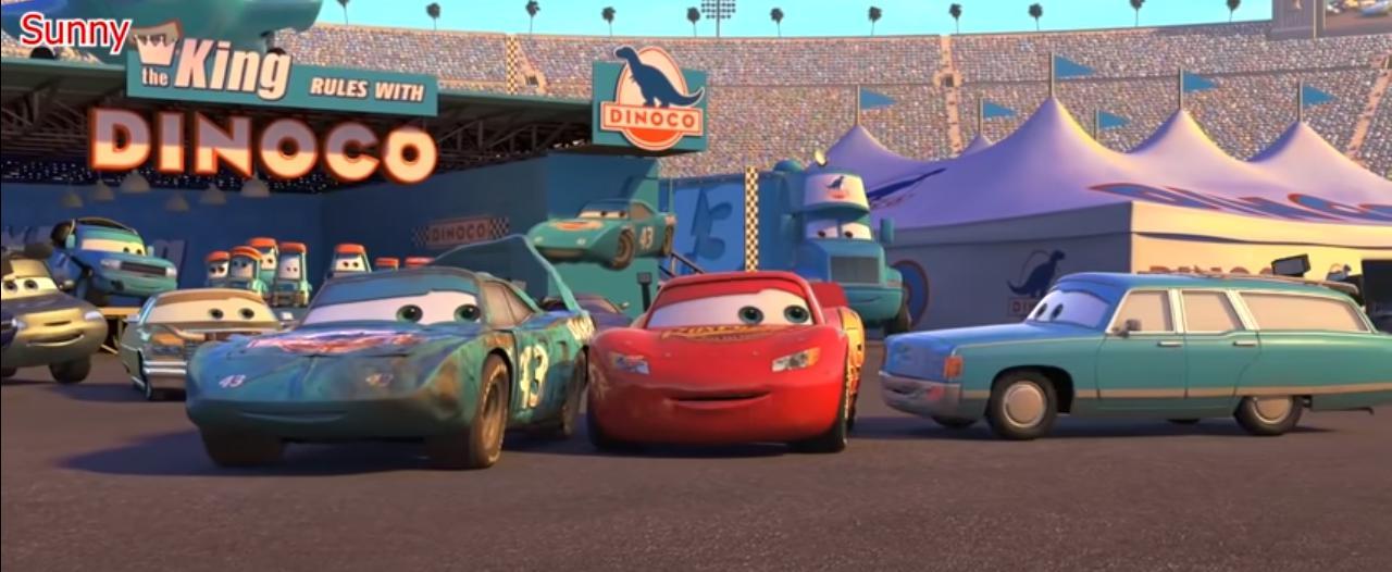 Doblaje de la Sra de Rey CARS