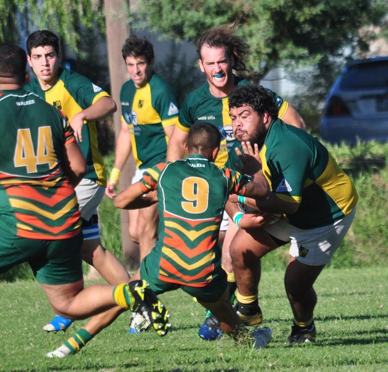 rugby las cañas sosa en accion