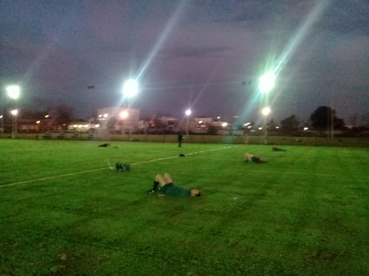 rugby retorno entrenamientos CAMPO DE JUEGO
