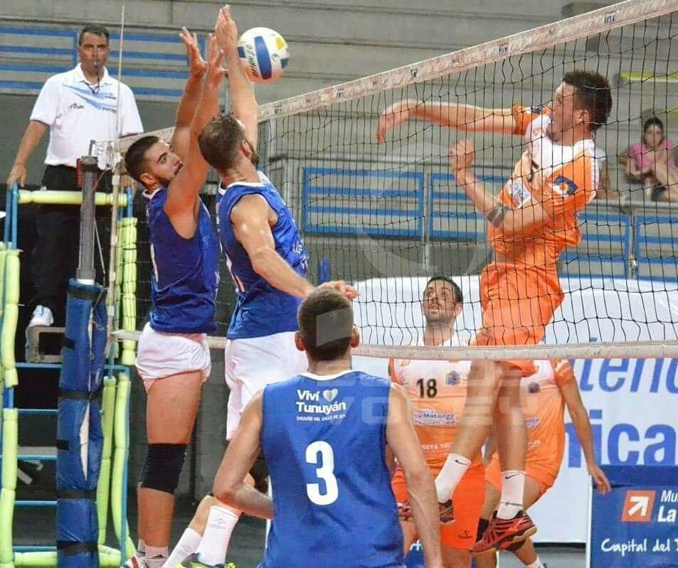 anuario giraldo Matanza voley CAMISETA SUPLENTE Liga Nacional A2 2019