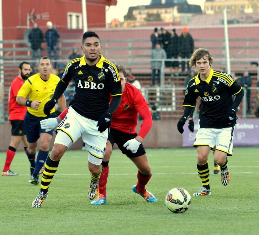 anuario GABRIEL PAYA FERREYRA en el AIK de Suecia