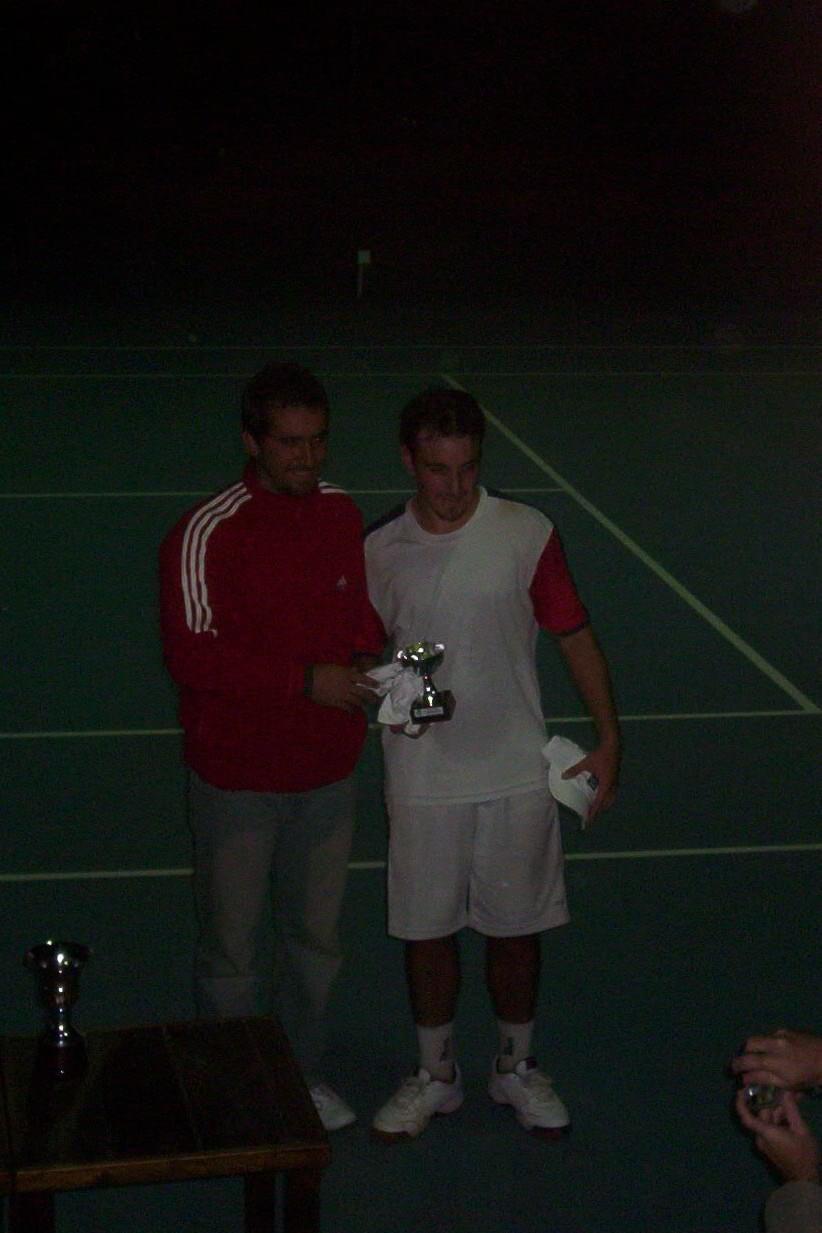 chalcoff primer torneo, final de la Copa Wilson en 2007