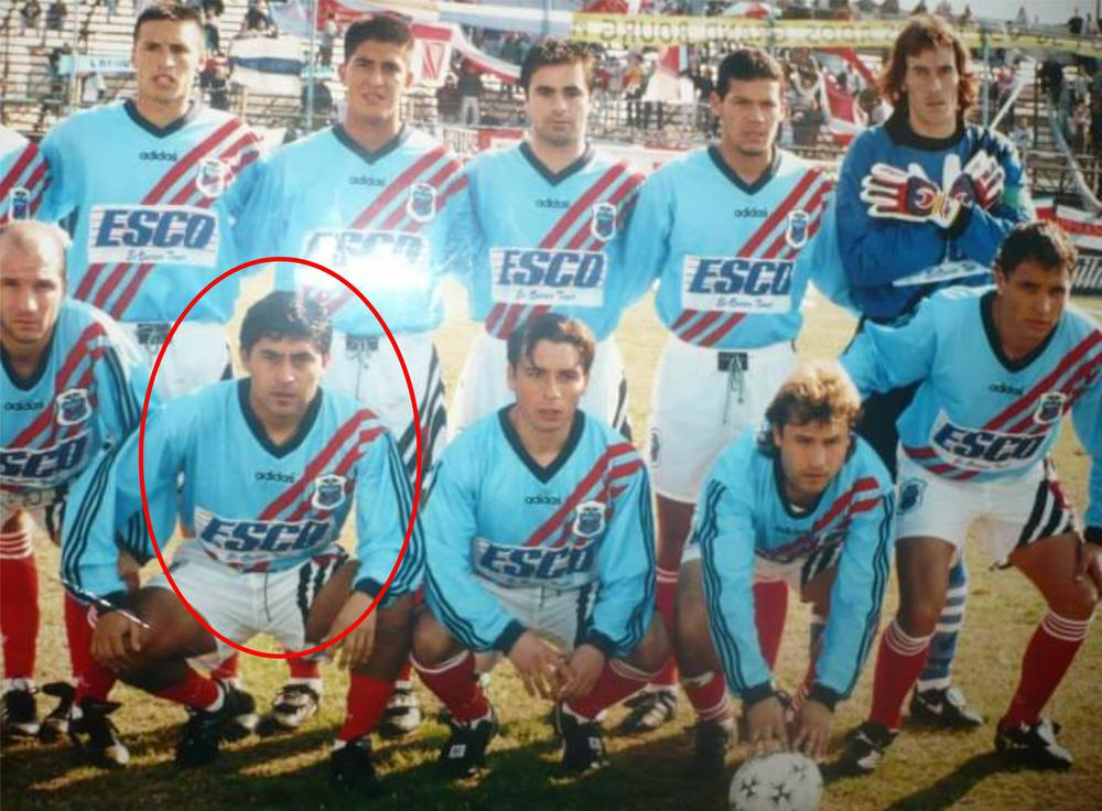 luis sosa Arsenal temporada 1996 1997 B